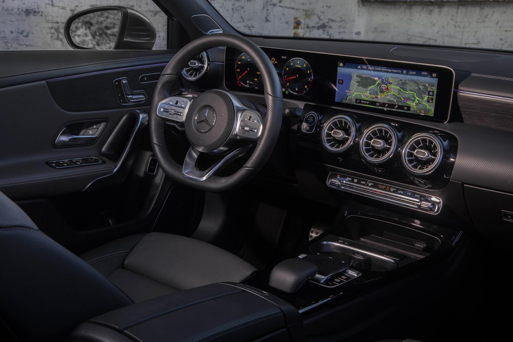 2019 Mercedes Benz A Class Sedan First Drive Elegantly Tech Savvy
