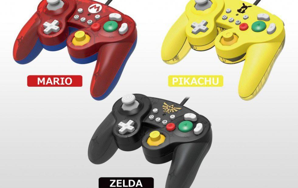 Nintendo Switch Gamecube Smash Bros controllers coming from HORI