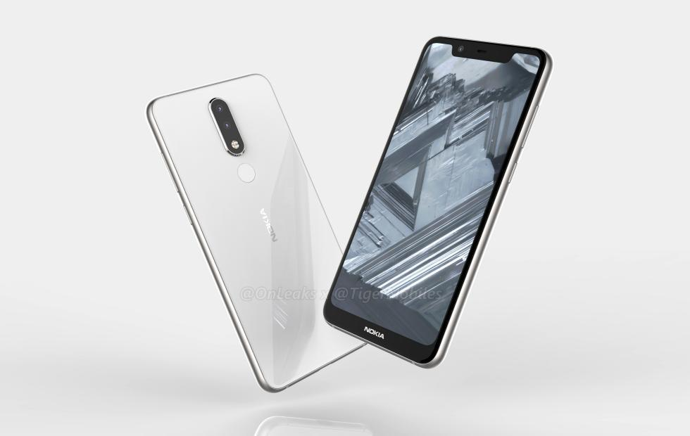 Nokia 5.1 Plus renders hint at a Nokia X6 for the rest of us