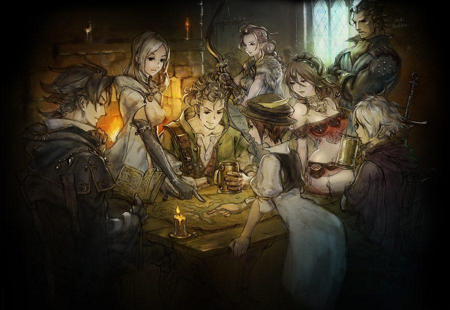 Octopath Traveler review in progress: A big, bold game