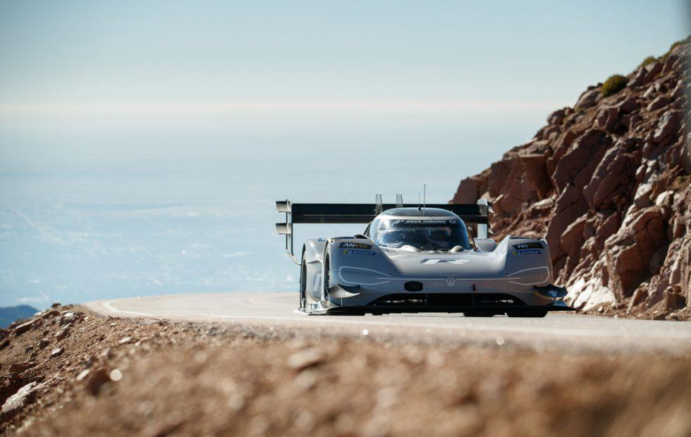 Watch the VW I.D. R Pikes Peak's full record-smashing hill climb