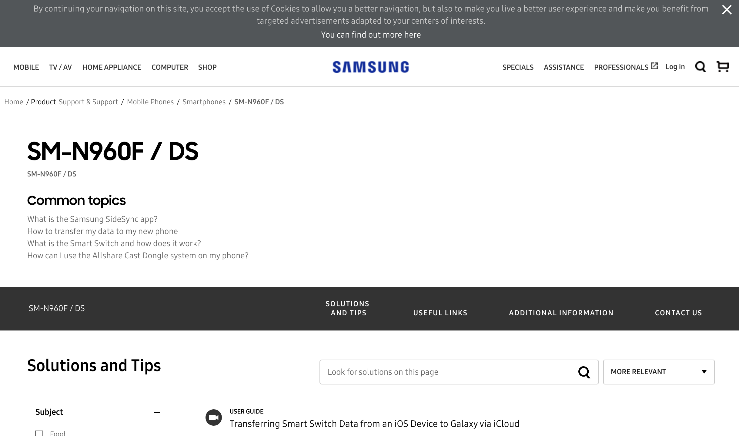 Samsung just went live with secret Galaxy Note 9 support
