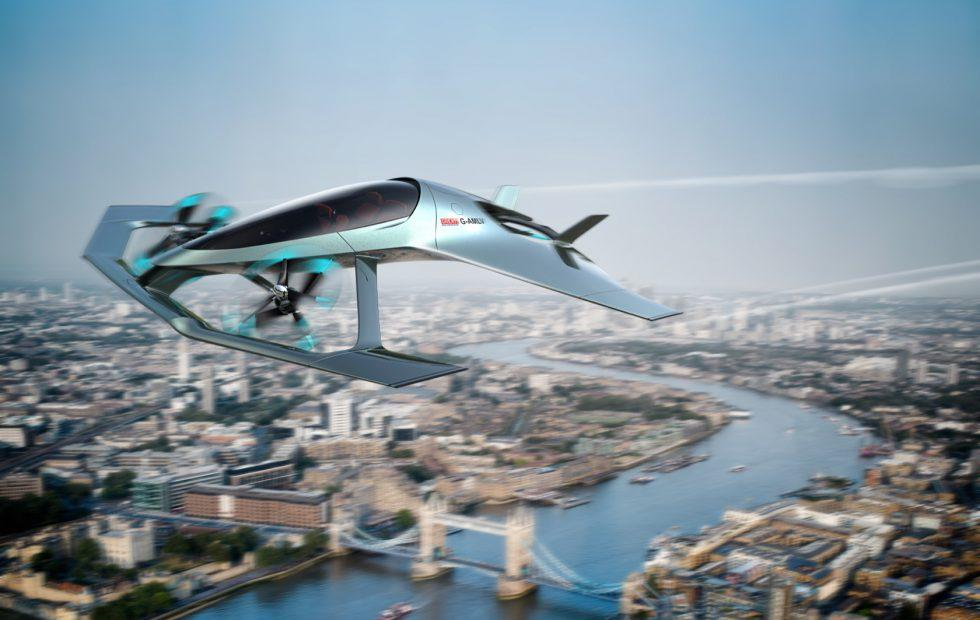 Aston Martin just revealed a self-flying hybrid plane