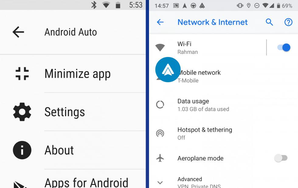 "Android Auto ""minimize app"" let's you live dangerously for a while"