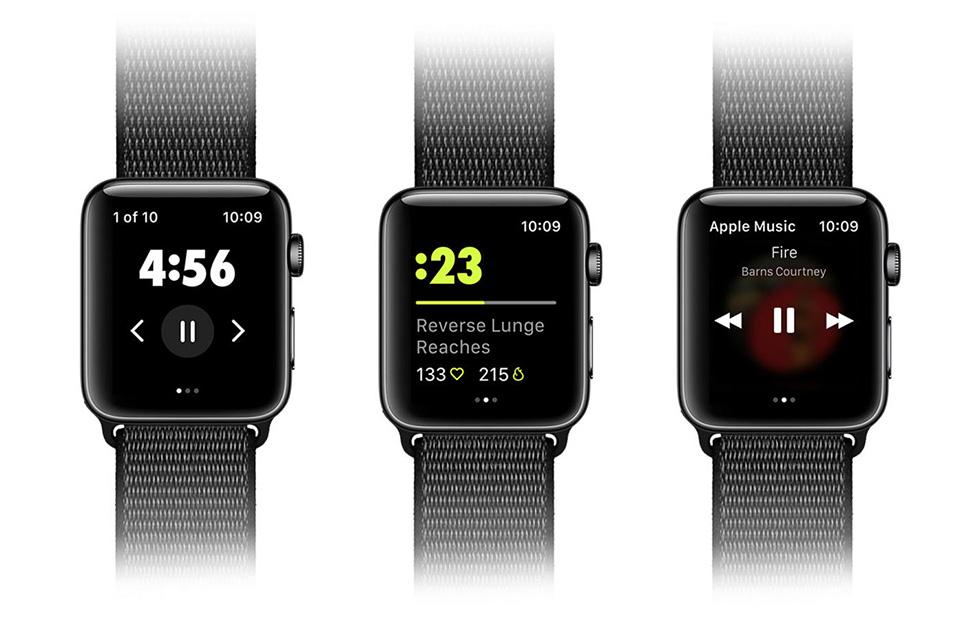 Nike Training Club app brings exercise data to Apple Watch