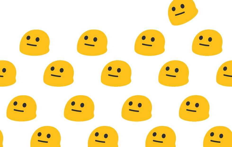 Google Blobmoji released as stickers (and here as gifs)