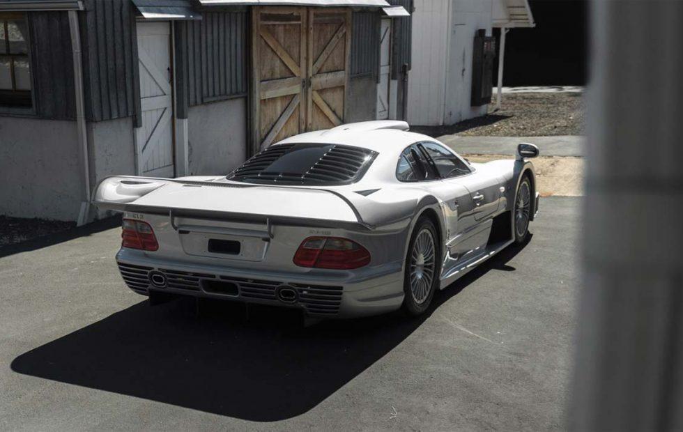 1998 Mercedes-Benz AMG CLK GTR heads to auction
