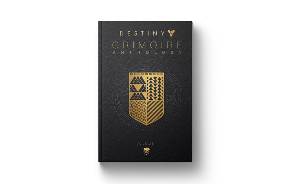 Destiny Grimoire Anthology Vol. 1 book of lore available for preorder