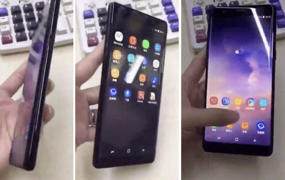 Galaxy Note 9 double leak: All out in the open