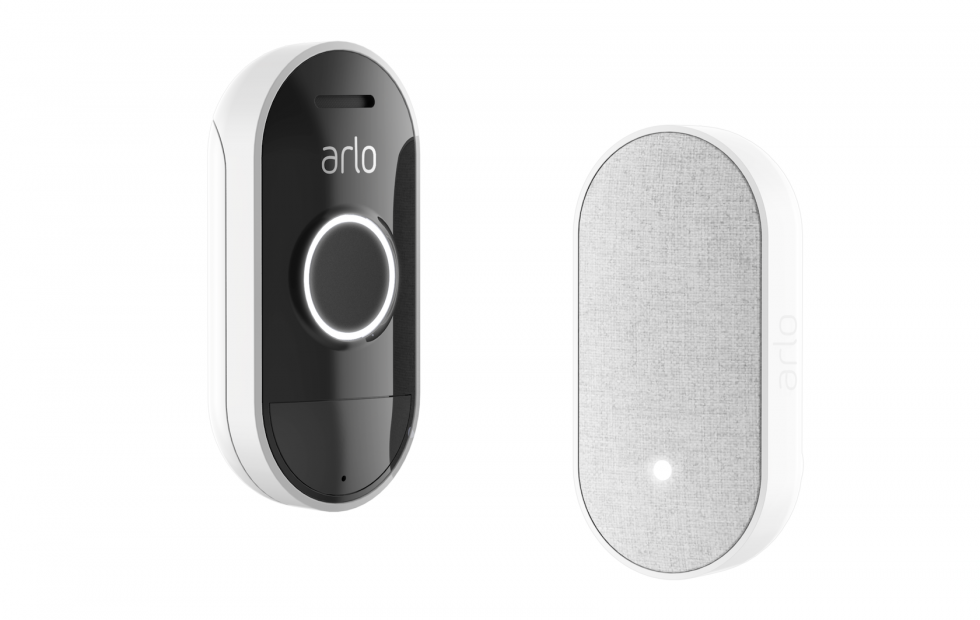 Arlo Doorbell and Arlo Chime offer flexible twist in smart security