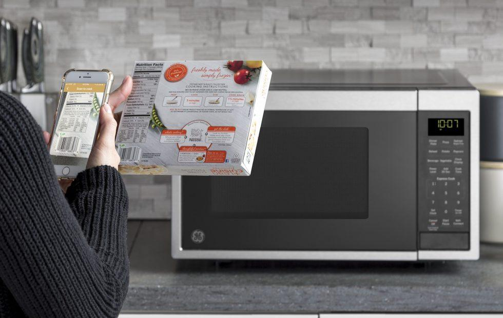 GE's Smart Microwave bakes in Alexa support