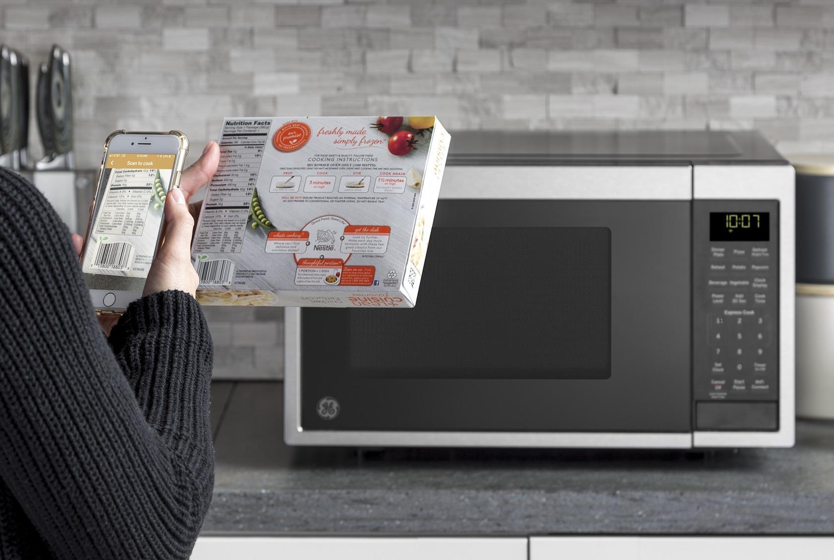 Ge S Smart Microwave Bakes In Alexa