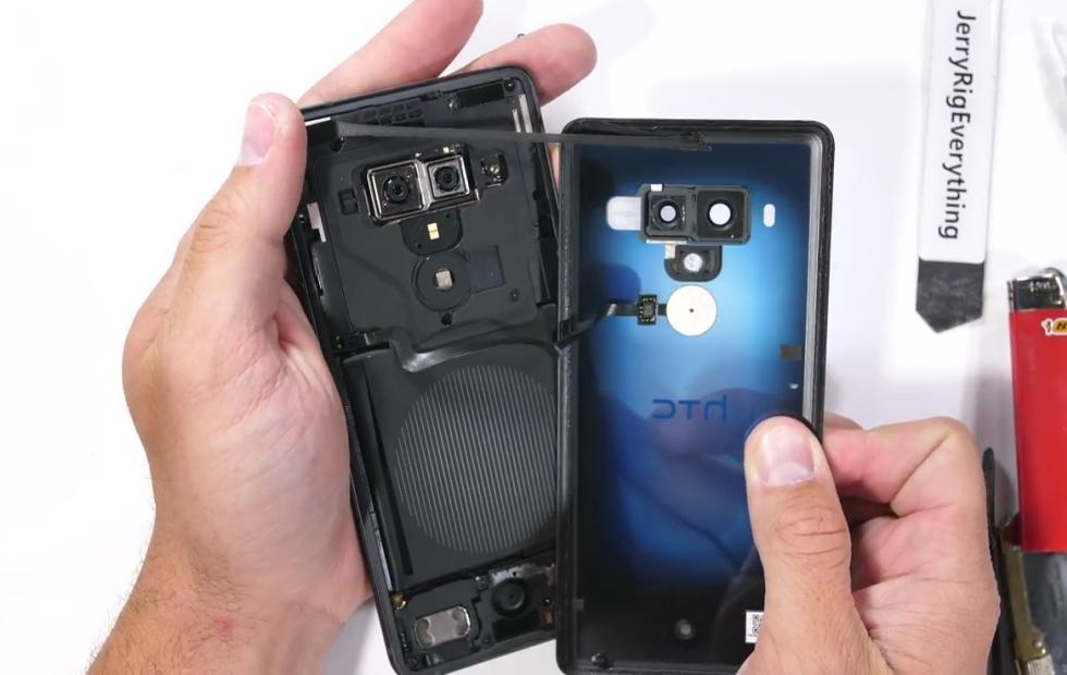 HTC U12+ durability test reveals hidden problems