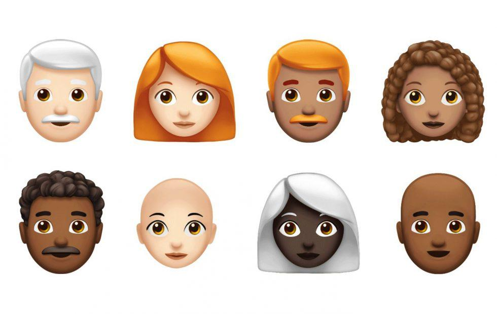 Apple's next set of iOS emoji is all about hair (and lettuce)