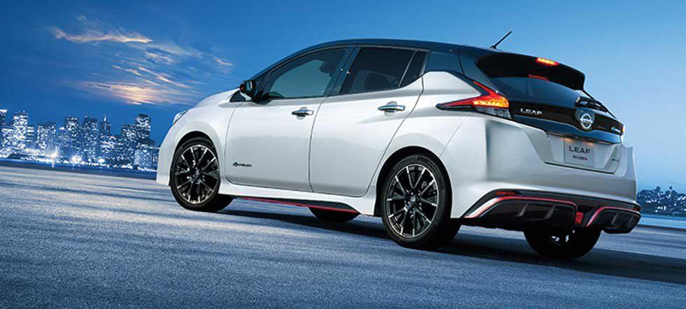 Nissan Leaf Nismo Debuts in Japan aiming at green hooligans