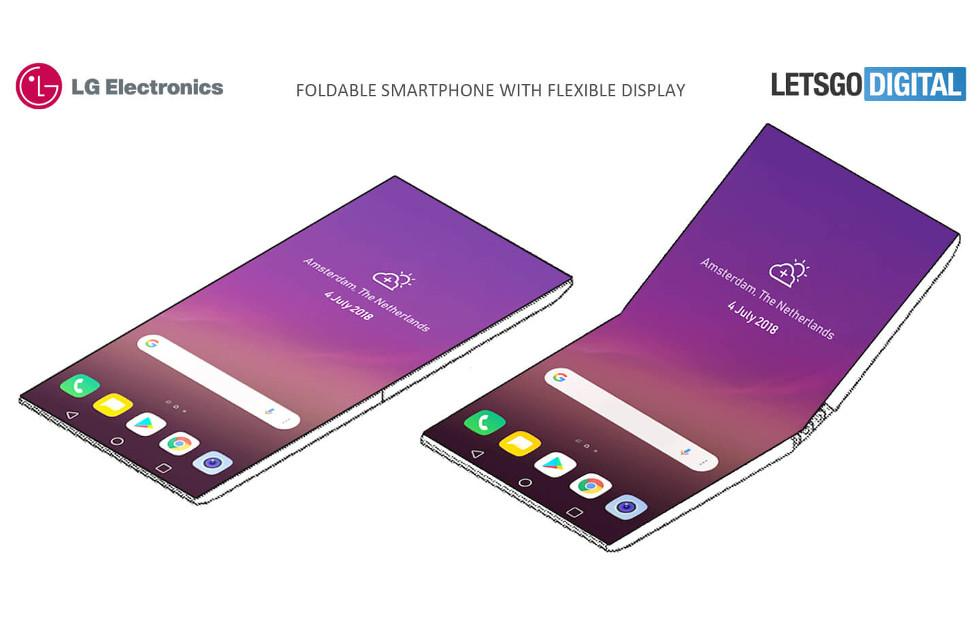 LG foldable phone patent has some interesting twists