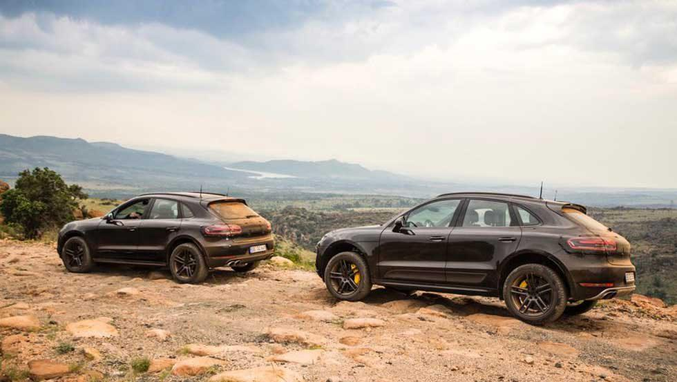 New Porsche Macan high-altitude testing underway in South Africa