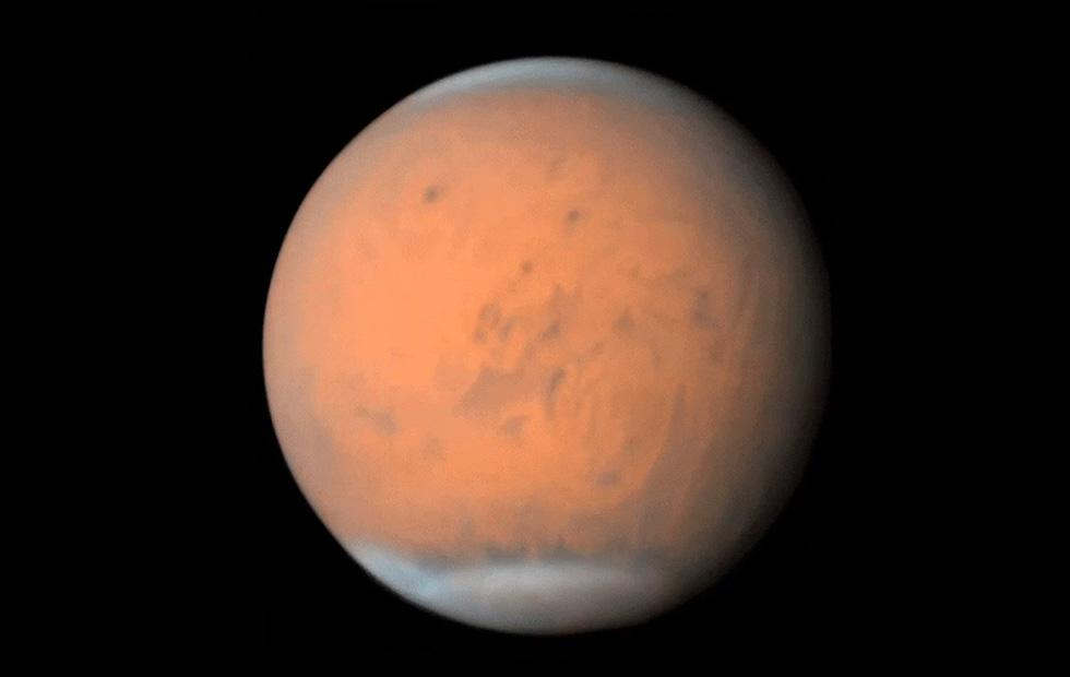 Mars' global dust storm size visualized in new animation