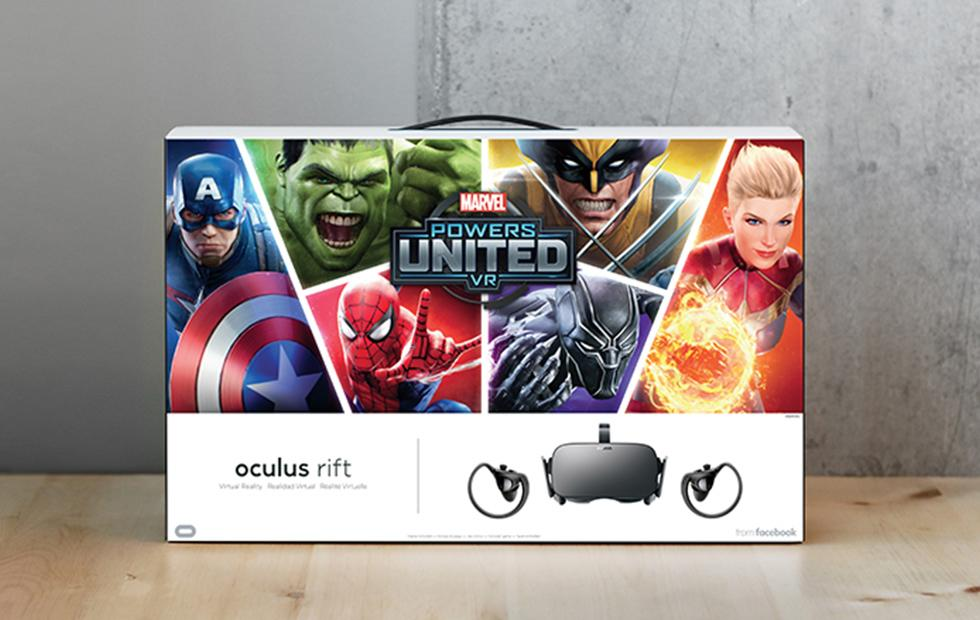 Marvel Powers United VR Rift + Touch Bundle arrives next week