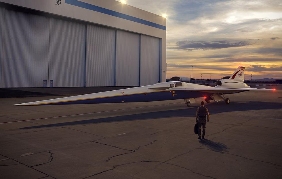 NASA's quiet supersonic X-plane name revealed ahead of noise tests