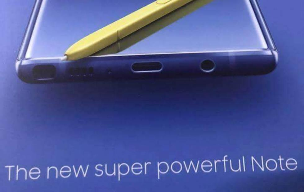Galaxy Note 9 price and color leak: it's mixed