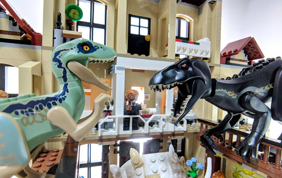 Jurassic World Indoraptor Rampage at Lockwood Estate LEGO Review