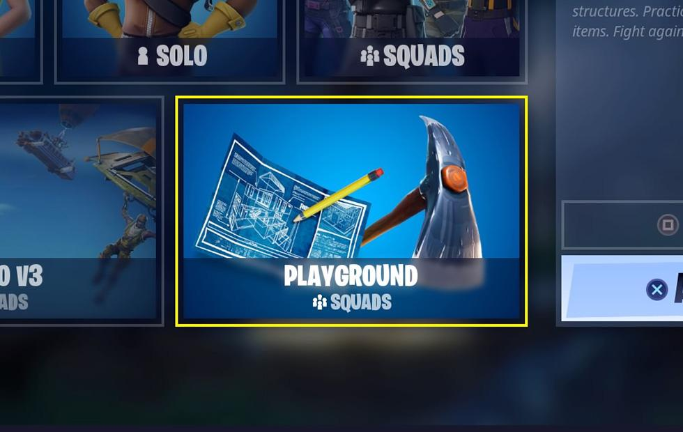 Fortnite Playground mode returns this week with loot boost