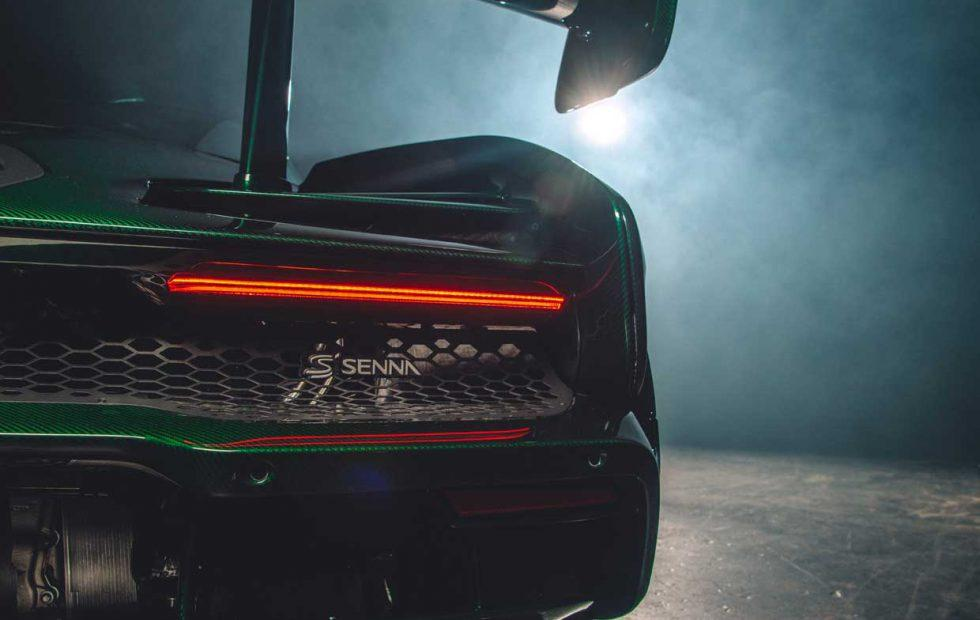 First North American McLaren Senna is clad in epic green carbon fiber