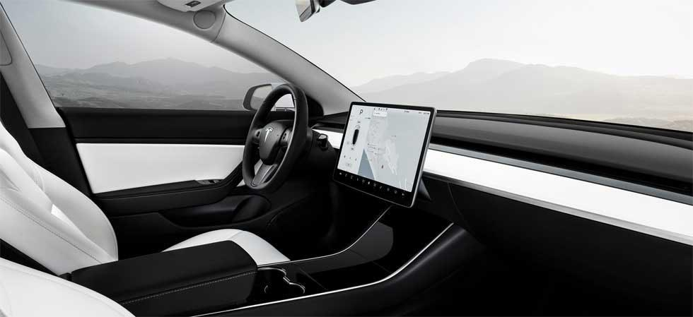 Tesla debuts Model 3 dual motor and white interior option