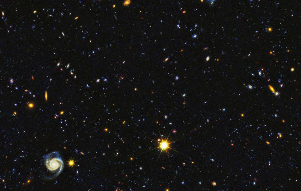 This epic NASA photo of star births spans 11 billion years
