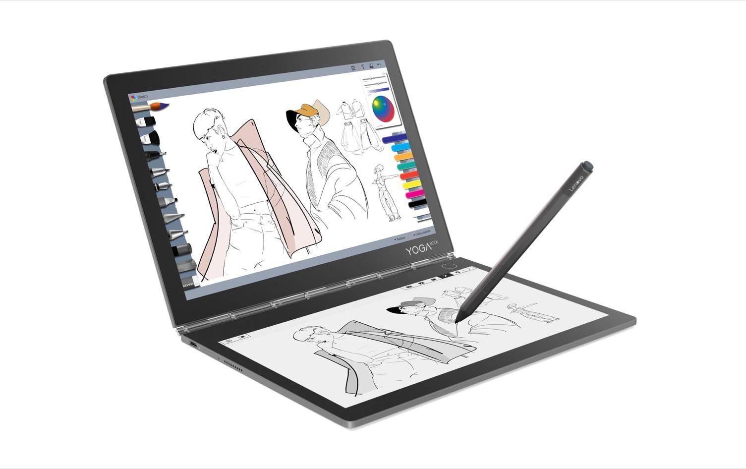 Lenovo Yoga Book C930 Vs Original Yoga Book What S New Slashgear