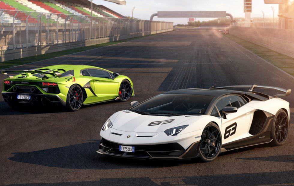 Lamborghini Aventador SVJ Gallery