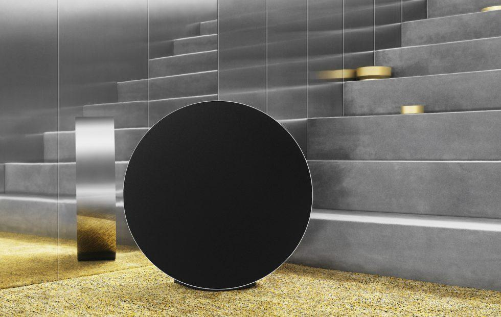 Bang & Olufsen's Beosound Edge is a mesmerizing speaker you roll
