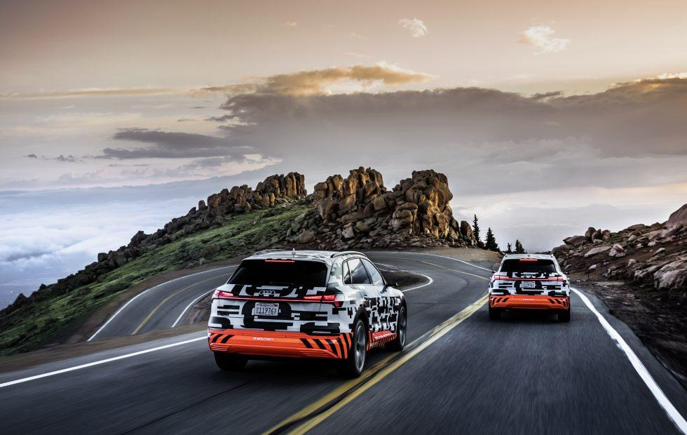 Audi e-tron Pikes Peak Challenge Gallery