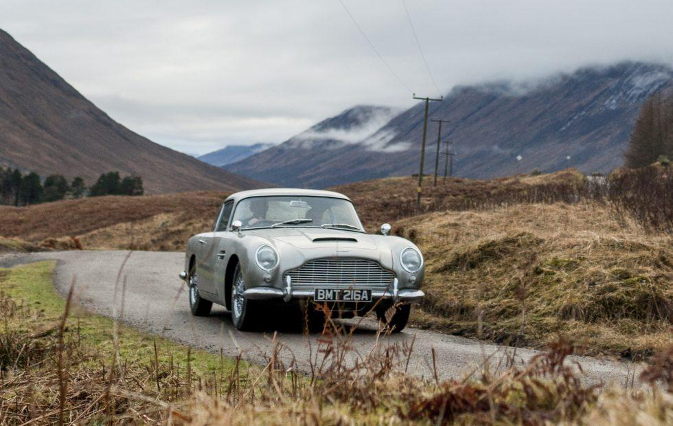 James Bond's iconic Aston Martin DB5 is being produced – with gadgets