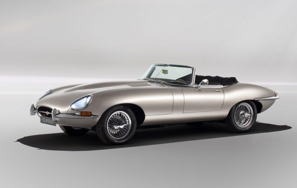 The Jaguar E-Type Zero all-electric classic is going into production