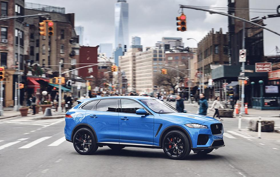 2019 Jaguar F-Pace SVR: News, Design, Engine, Price >> 2019 Jaguar F Pace Suv Gets Tech Upgrade As 550hp Svr