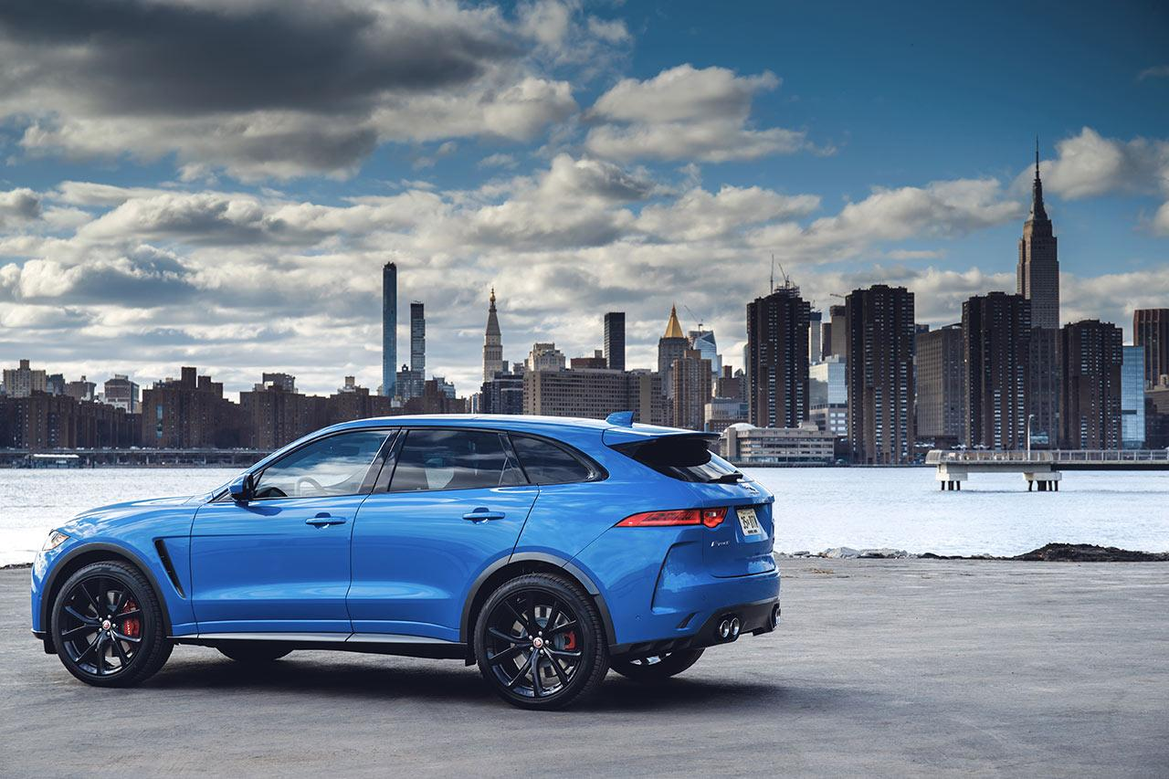2019 Jaguar F-PACE SUV gets tech upgrade as 550hp SVR arrives