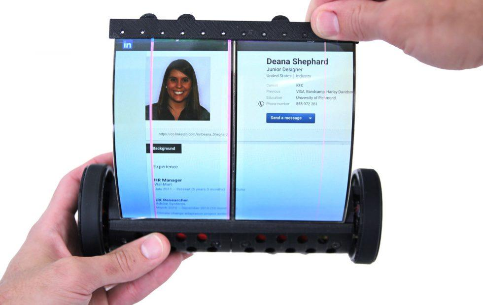 MagicScroll rollable tablet gives folding screens a controversial form-factor