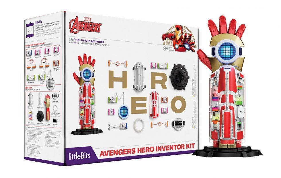 littleBits Avengers Inventor Kit lets kids create their own super gauntlet