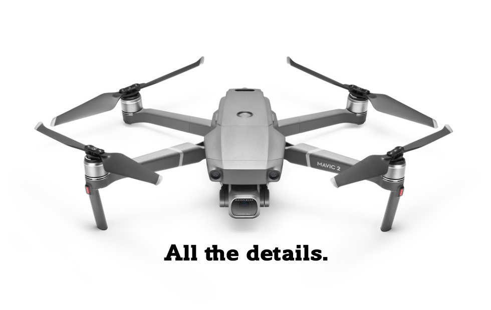 DJI Mavic 2 Pro brings a beefy camera in a tiny drone body