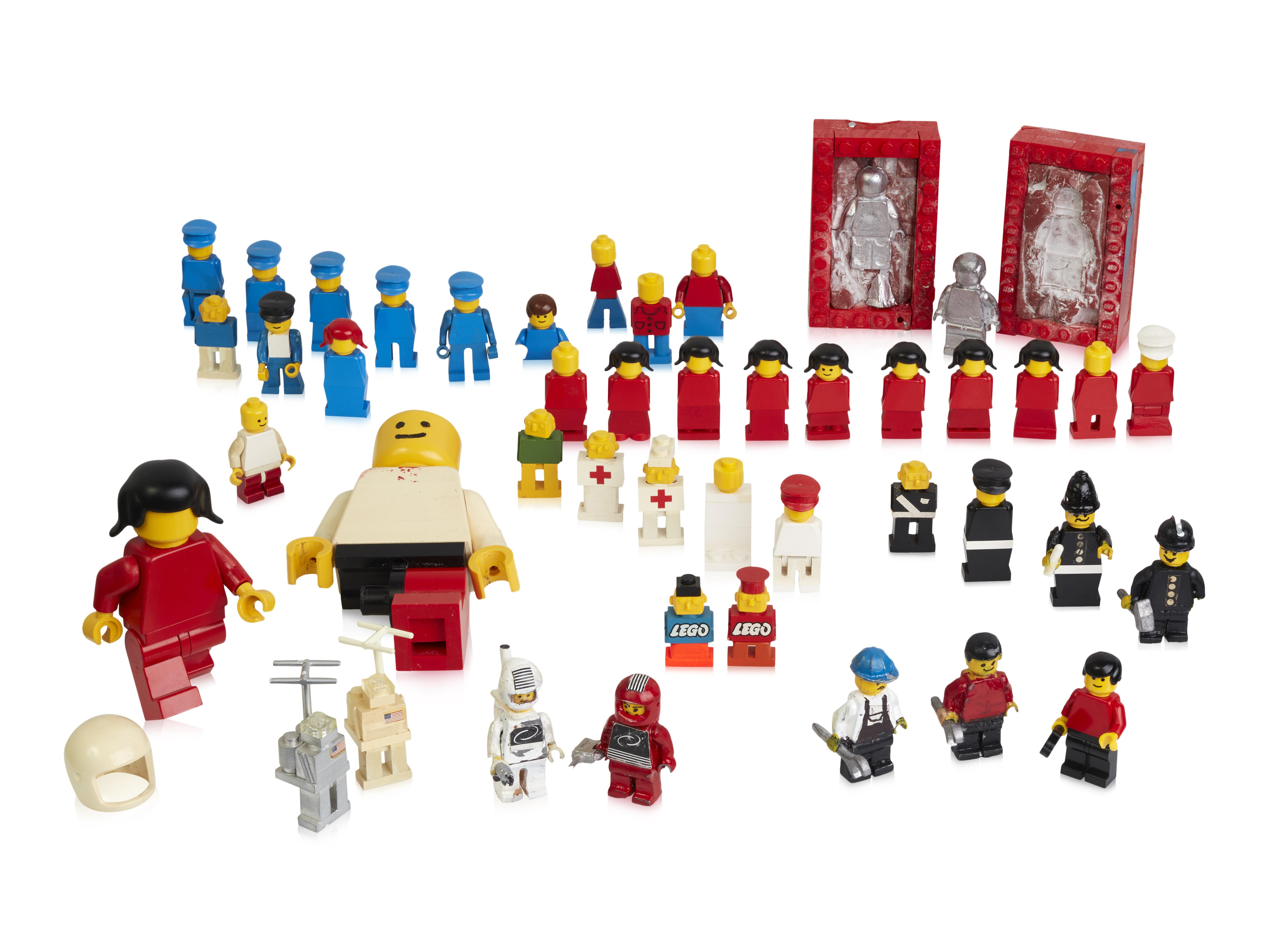 Lego 40 Yellow Hands Hand For Minifigure Figure 20 Pair