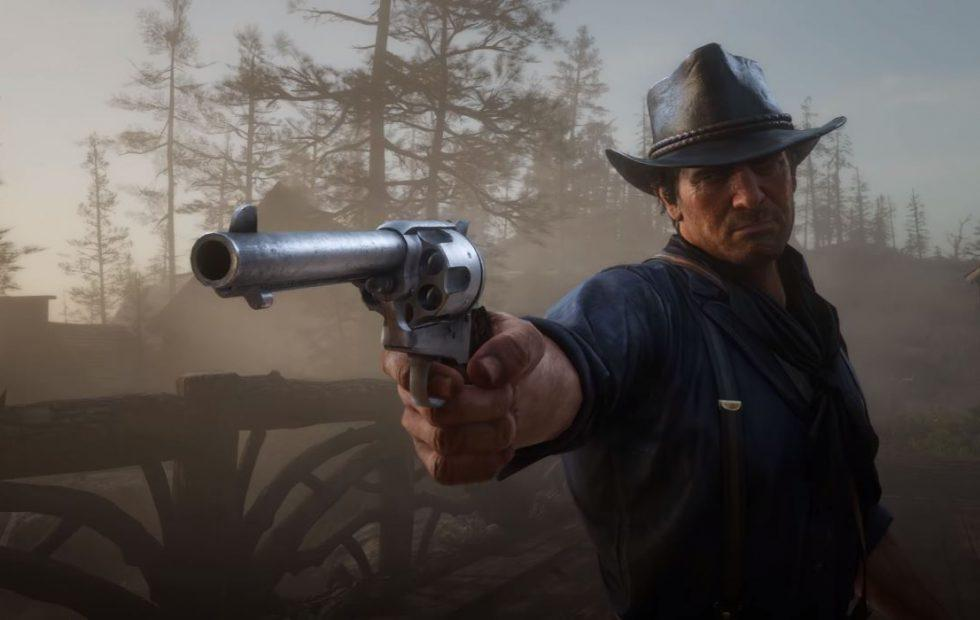Red Dead Redemption 2 gameplay video sets the stage for grand adventure