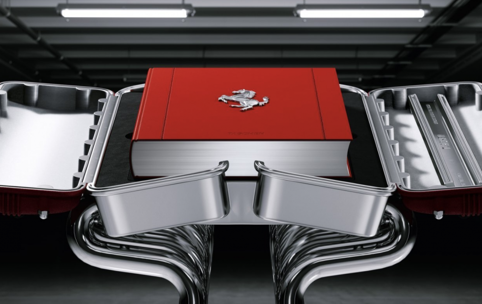 This Ferrari book costs $30k