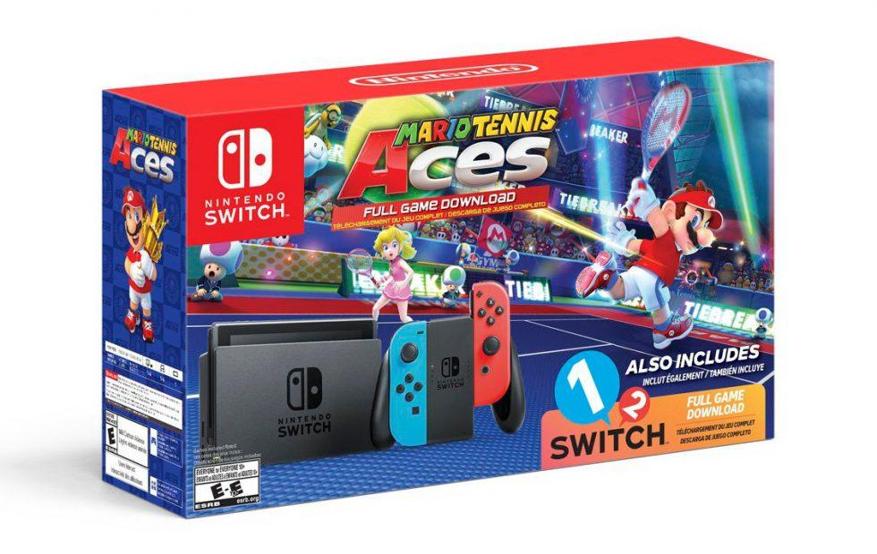 Nintendo Switch Mario Tennis Aces bundle heads to Walmart next month