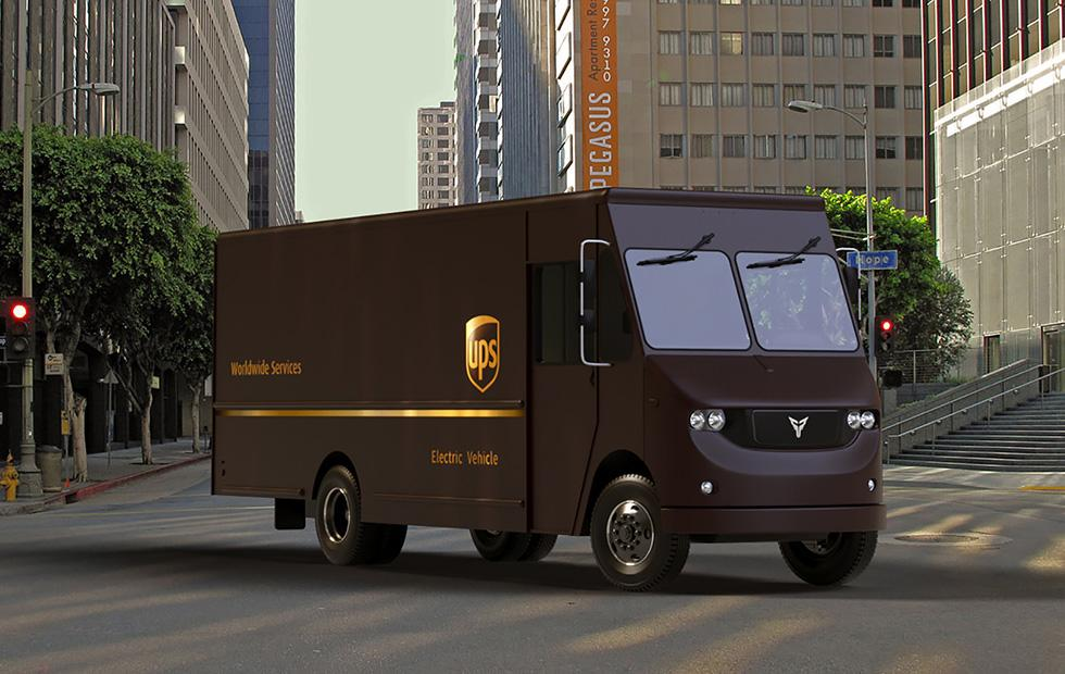 UPS developing electric delivery trucks for testing in Los Angeles