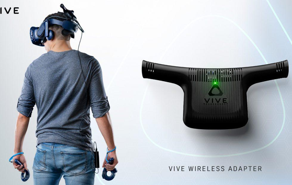 HTC VIVE Wireless Adapter untethers you from your PC