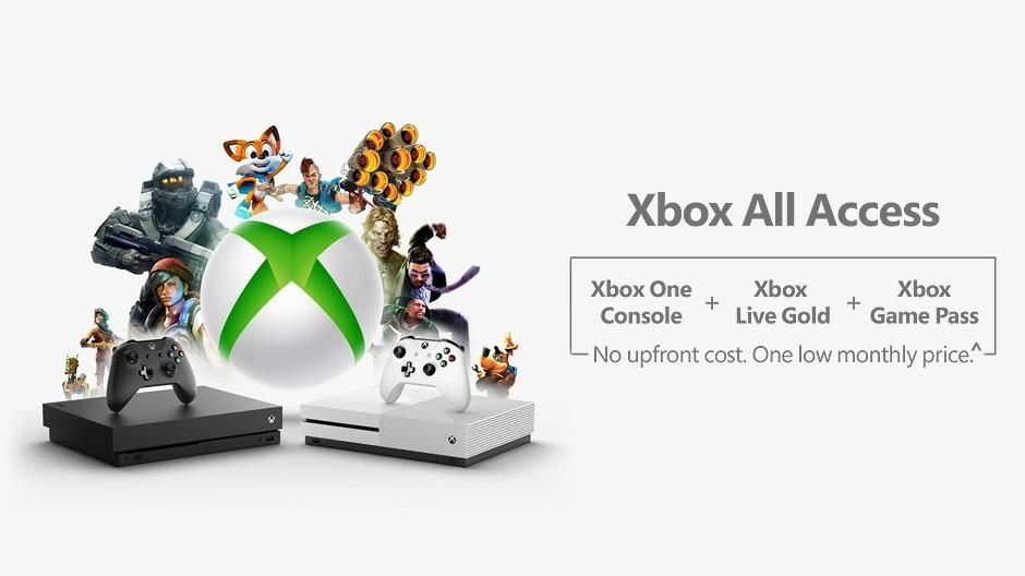 Xbox All Access official: Two-year contract for console, Game Pass, and Xbox Live