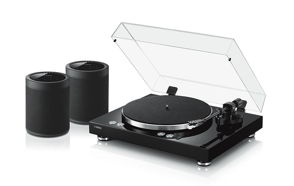 Yamaha MusicCast VINYL 500 turntable has WiFi for multi-room streaming
