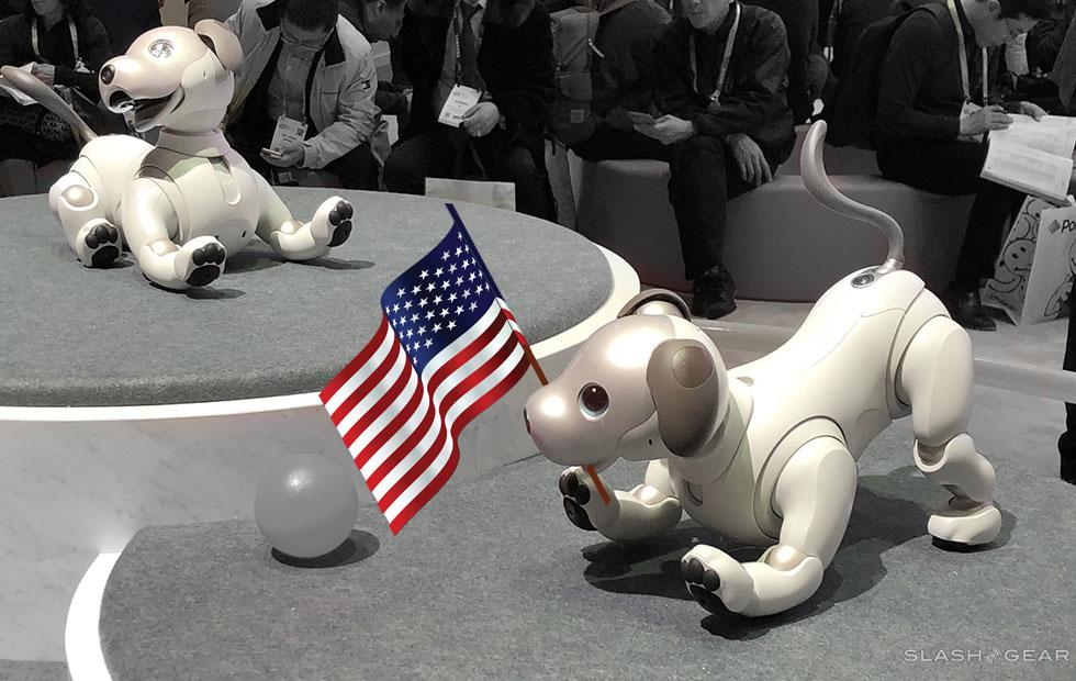 Sony aibo robot dog USA release date locked in for adoption